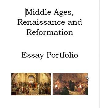 Essay Portfolio: Renaissance and Reformation