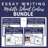 Essay Practice Centers BUNDLE!