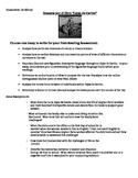Essay Prompts for Cajas de Carton/ The Circuit by Francisco Jimenez