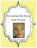 Essay Prompts for Discovering Wes Moore & Rubric
