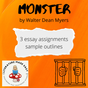 Essay Prompts for Monster Walter Dean Myers