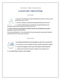 Essay Questions - French AS - A Level - Law and Order - Health and Fitness