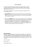 Essay Reflection Assignment
