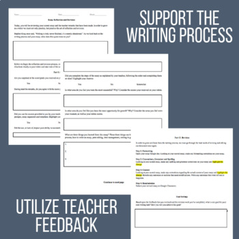 Essay Reflection, Revision, and Goal Setting