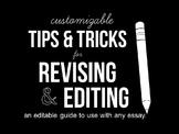 Essay Revision Checklist - Tips & Tricks for Revising Any