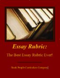 Essay Rubric -- Best Essay Rubric EVER!