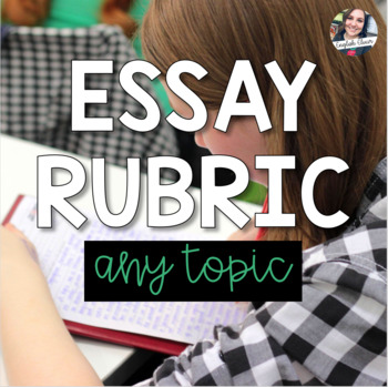 Essay Rubric - Free Product!