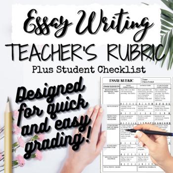 Essay Rubric / Student Checklist: Persuasive, Expository,