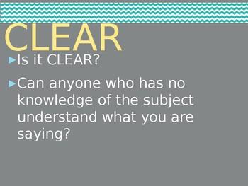 Essay Self and Peer Assessment Tool