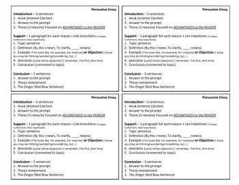 Essay Study Guides - Expository and Persuasive