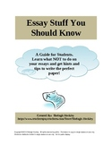 Essay Stuff You Should Know