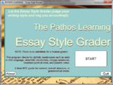 Essay Style Grader