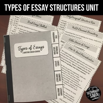 Essay Types Unit & Flipbook: Cause/Effect, Problem/Solutio