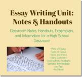 Essay Unit