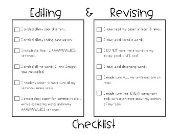 Essay Upgrades: Revising and Editing Stations for Writing