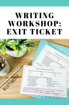 Essay Workshop: Exit Ticket