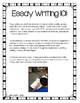 Essay Writing 101: CCSS Essay Writing FREEBIE