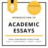 Essay Writing - APEC Paragraph Structure: Four Pieces of a