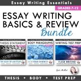 Essay Writing Basics Bundle: Thesis Statements, Body Parag
