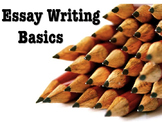 Essay Writing Basics: Essay Structure 101 - Handouts, Lecture Notes, Quiz & Key