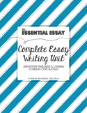 Essay Writing Complete Unit (Expository, Persuasive & Lite