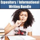 Expository Informative Essay Writing Bundle