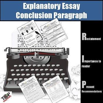 how to write conclusions for expository essays Collection of resources for teaching how to write expository essays.