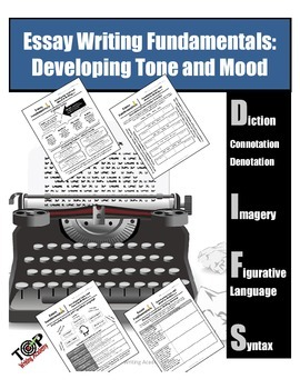 Expository Essay Developing Tone and Mood (Diction Fig. La