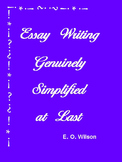 Essay Writing Genuinely Simplified at Last - Fun Teaching/Learning Method
