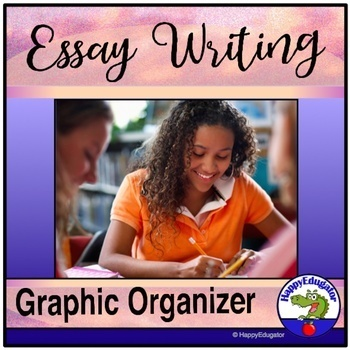 Essay Writing Graphic Organizer PowerPoint