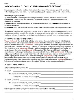 Essay Writing Graphic Organizers (Bundle)