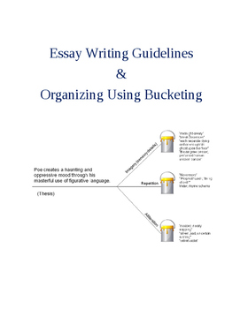 How to Teach Essay Writing & Organizing Using Bucketing