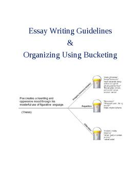 How to Teach Essay Writing & Organizing Using Bucketing