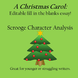 Essay Writing Help: Fill in the Blanks Essay for A Christm