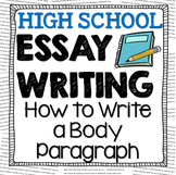 Essay Writing: How to Write a Body Paragraph