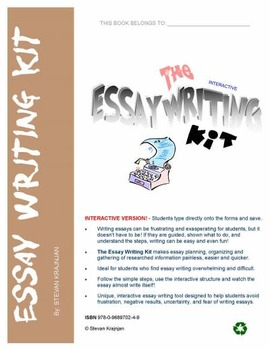 the essay writing kit how to write an essay interactive the essay writing kit how to write an essay interactive templates and guide