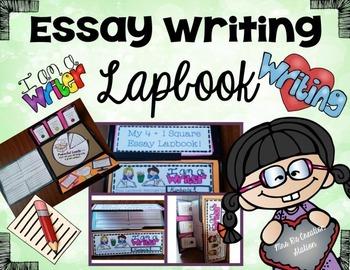 Essay Writing Lapbook-4 Square Templates