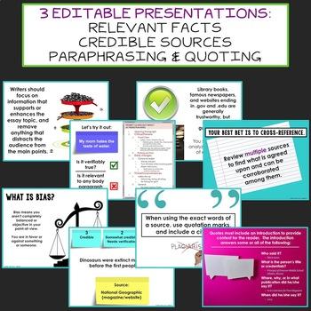 Essay Writing Lessons Bundle