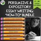 Essay Writing Lessons Bundle