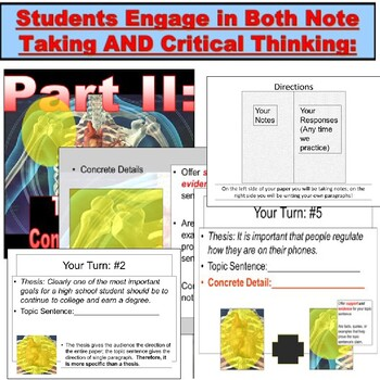 Essay Writing : Lessons and Notes PowerPoint