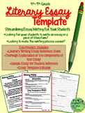 Essay Writing-Literary Writing-Templates, Reference Pages