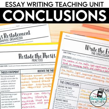 Essay Writing: Mastering the Conclusion