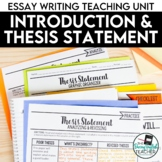 Thesis Statement and Introduction: Essay Writing