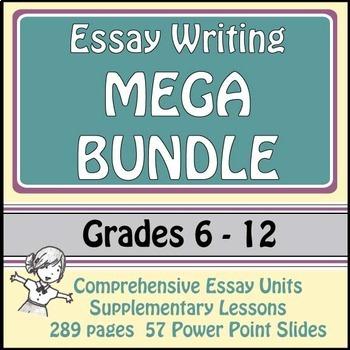 Essay Writing Mega Bundle