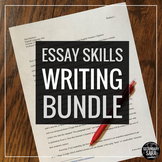 Essay Writing Mega Bundle: ALL of my Current and Future Es