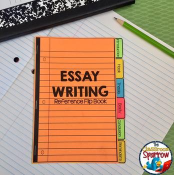 essay writing interactive notebook mini flip book by the essay writing interactive notebook mini flip book