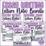 Essay Writing Mini Lessons Bundle