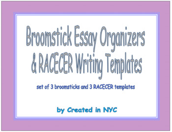 Essay Writing Organizers Set