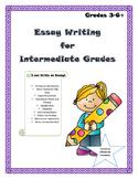 Essay Writing Prompts, Organizers, Rubrics *No Prep Printa