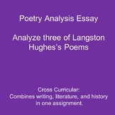 Essay Writing Prompt: Analyzing Three Poems by Langston Hughes